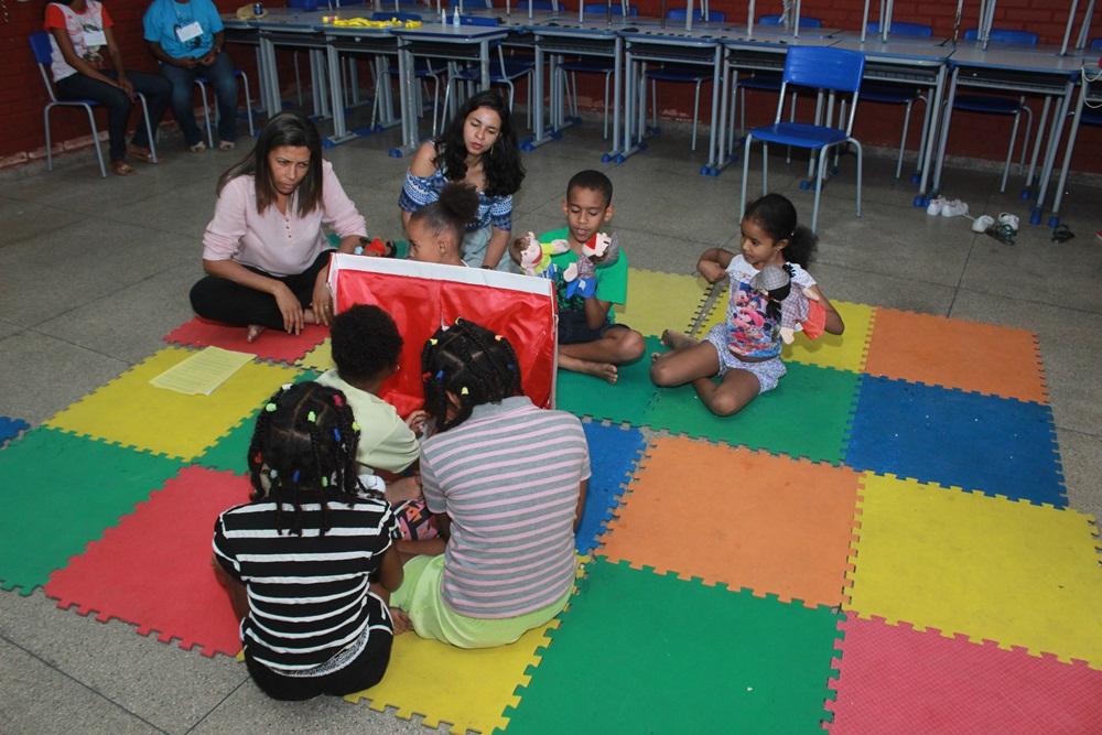 Edição da Ação Social Anna Sironi na Escola Carlos Santana