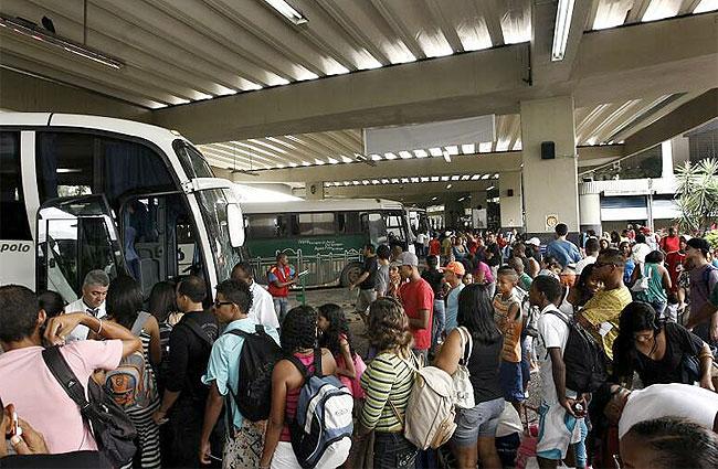 AGERBA TEM ESQUEMA ESPECIAlL Rodoviária terá 200 horários extras para o feriado de 7 de Setembro