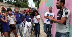 Alunos da Escola Polivalente de Amaralina participam do projeto Mais Grafite 2