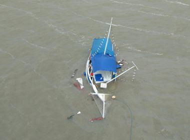 Escuna que ficou à deriva na Baía de Todos os Santos não levava passageiros