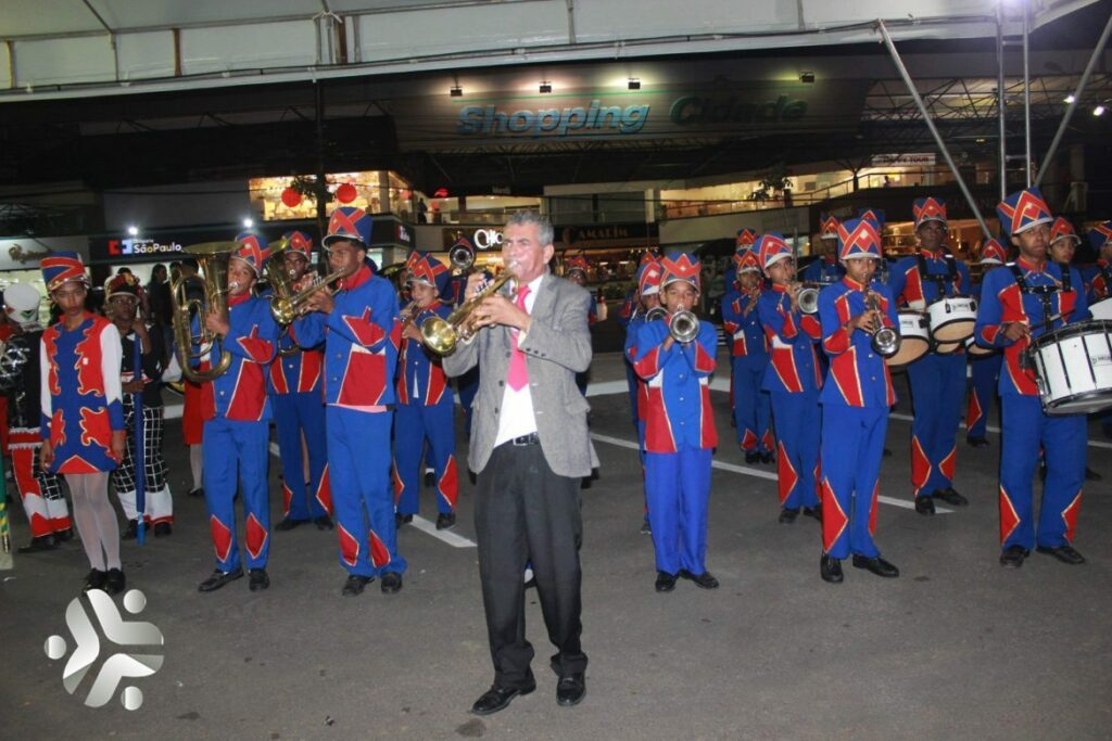 Photo of Fanfarra do Colégio Municipal Teodoro Sampaio se prepara para o desfile da Independência