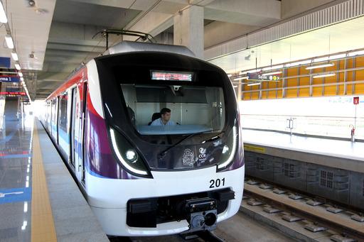 Teste do Metrô até Mussurunga