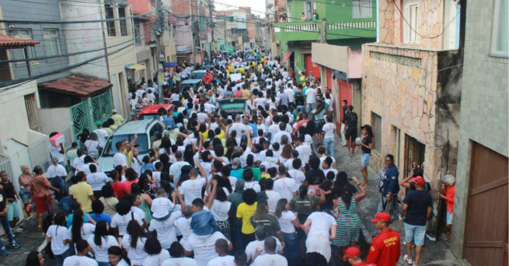 Photo of Marcha Para Jesus Yeshua Hamashia reúne multidão no Nordeste de Amaralina