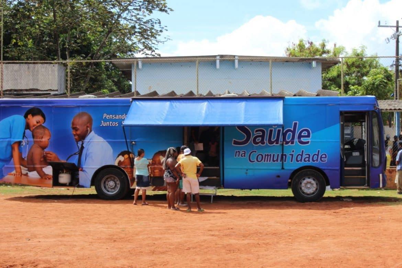 Photo of O ônibus da Saúde atende a comunidade da Santa Cruz e Região