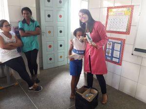 Ação na Escola Municipal Cristo Redentor melhora saúde bucal das crianças