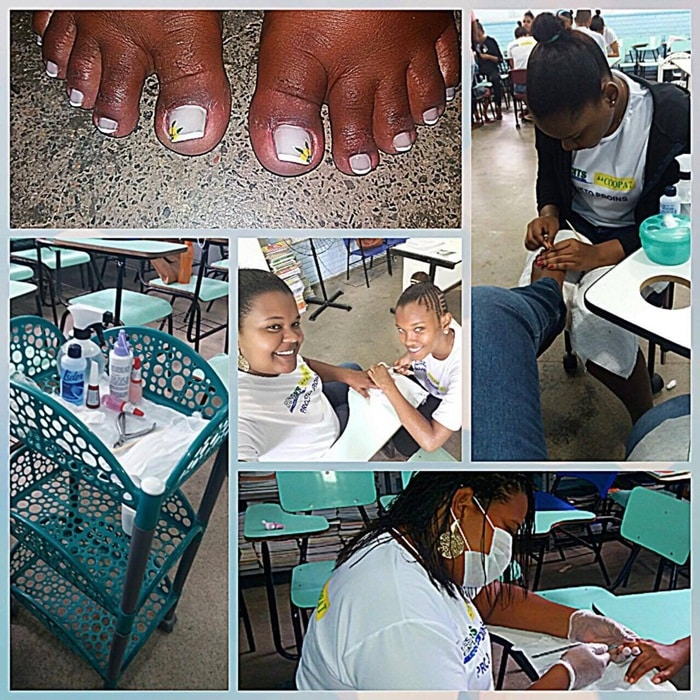 Photo of A SETRE oferece curso profissionalizante gratuito de Manicure e pedicure no bairro da Santa Cruz.