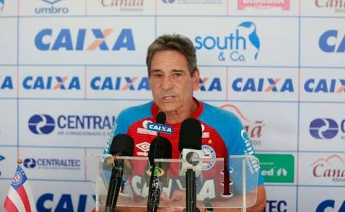 Bahia de Carpegiani encara o Fluminense logo mais as 16h.