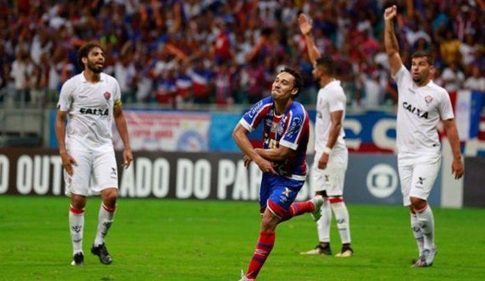 Bahia vence com gol no fim e deixa rival perto do Z4