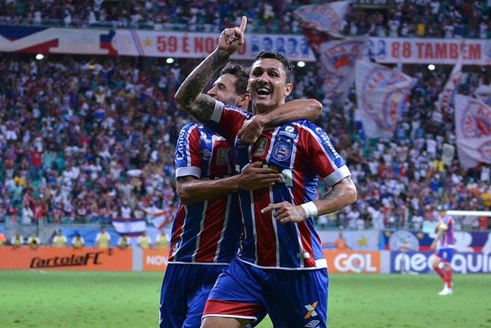 Bahia vence o líder Corinthians na Arena Fonte e se distancia da zona do desconforto