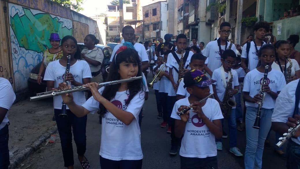 Photo of BSC – Santa Cruz promove caminhada musical no bairro em comemoração ao dia das crianças