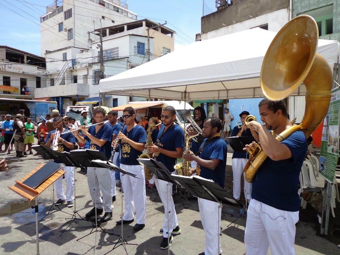 Photo of Filarmônica 1º de Maio abre inscrições para curso inicial de música para adolescentes e jovens do Nordeste de Amaralina