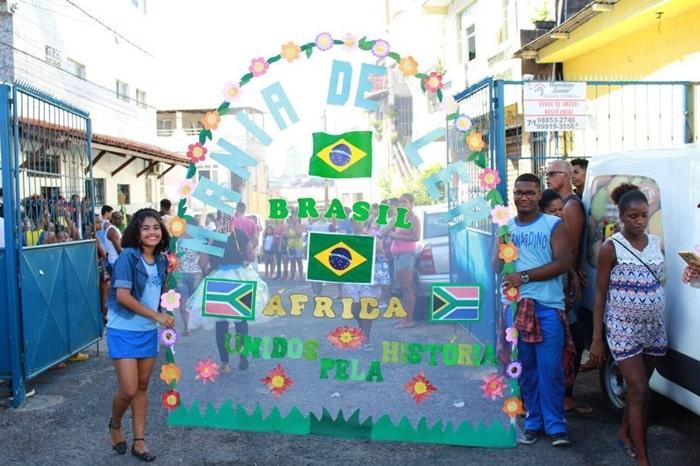 Photo of Escola Professor Bernadino Moreira promove desfile da Primavera no Nordeste de Amaralina