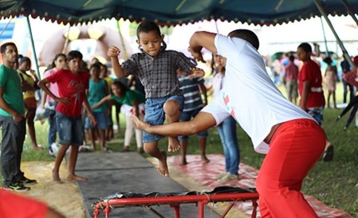 Festival da Criança terá shows, bike e brincadeiras circenses no Parque da Cidade