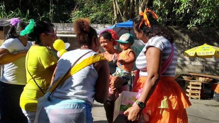 Grupo de Voluntários da União da Santa Cruz levou alegria e muita brincadeira para crianças em Santa Cruz3