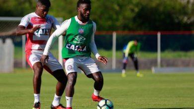 Equipe do Bahia começou a ser montada para enfrentar o São Paulo