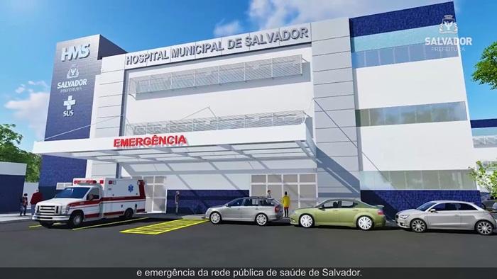Hospital Municipal está com mais de 85% das obras concluídas