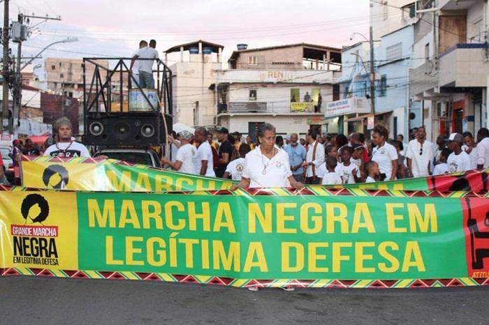 Photo of Marcha Negra em Legítima Defesa do Nordeste de Amaralina e contra o genocídio da juventude negra