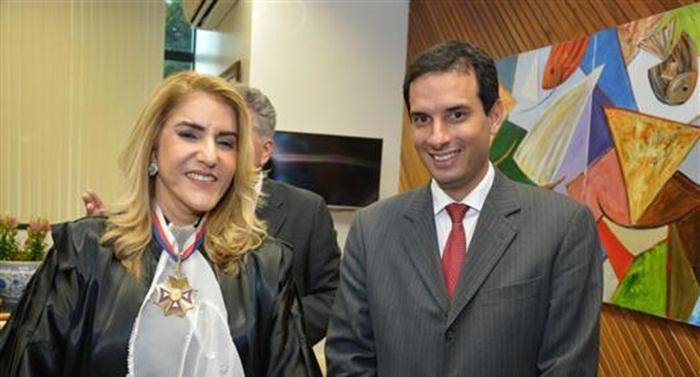 Photo of Presidente Leo Prates prestigia posse da mesa diretora do TRT