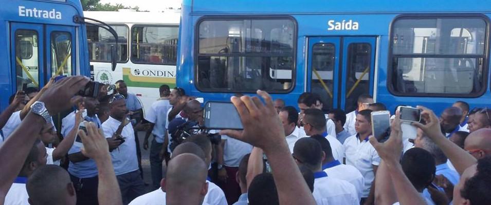 Rodoviários ameaçam parar atividades em Salvador