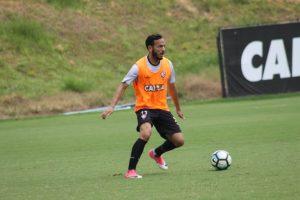 SEGUINDO A ROTINA; Mais um dia de treinamento intenso para os atletas do Vitória