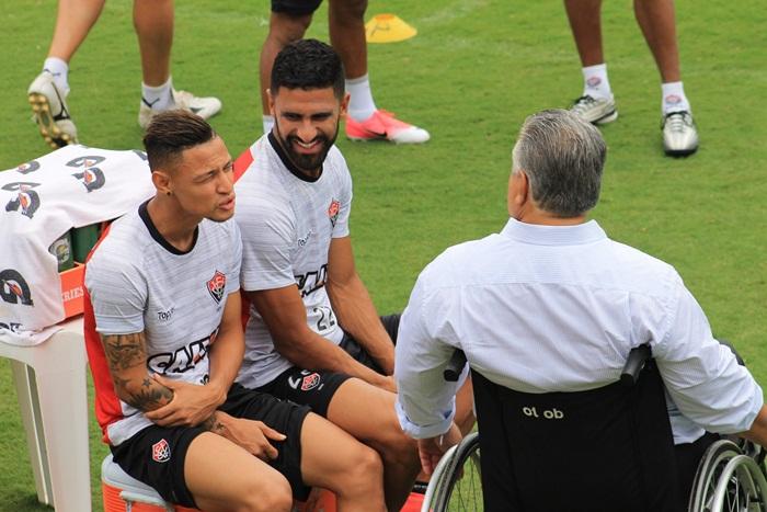 Photo of SEGUINDO A ROTINA; Mais um dia de treinamento intenso para os atletas do Vitória
