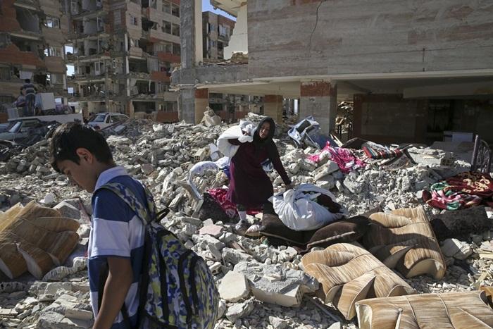 Sobe para 530 o total de mortos após terremoto no Irã