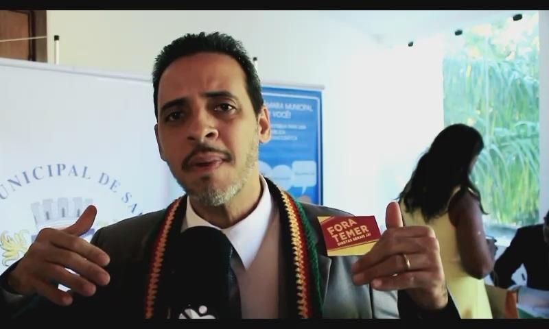 Vereador Hilton Coelho aponta defeitos no sistema de integração de ônibus da capital
