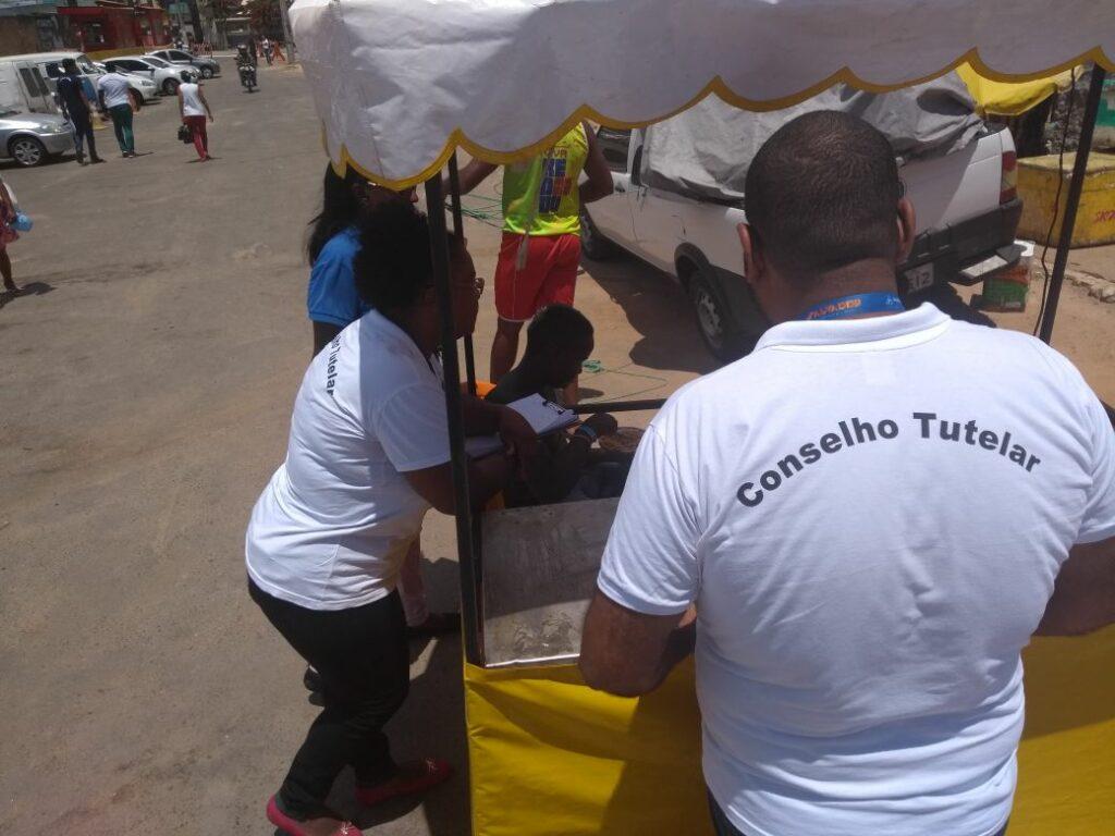 Photo of Conselho Tutelar no Festival da Virada Salvador