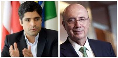 ACM Neto discute financiamento com ministro Henrique Meirelles1