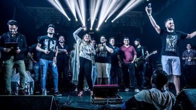 Cantores se unem para celebrar as conquistas de 2017