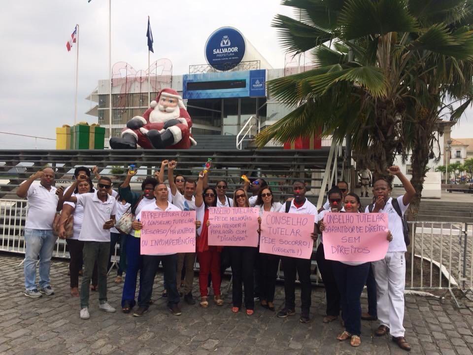 Photo of Conselheiros Tutelares realizaram protesto por melhores condições de trabalho