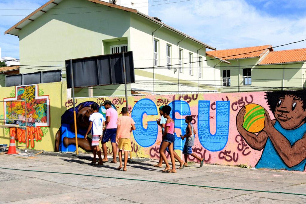 Photo of Mais Grafite leva arte urbana a jovens do Nordeste de Amaralina