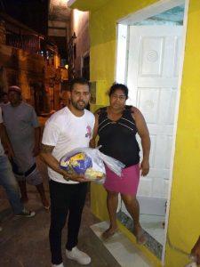 Natal Solidário Jogadores promove ação social para famílias do Nordeste de Amaralina2