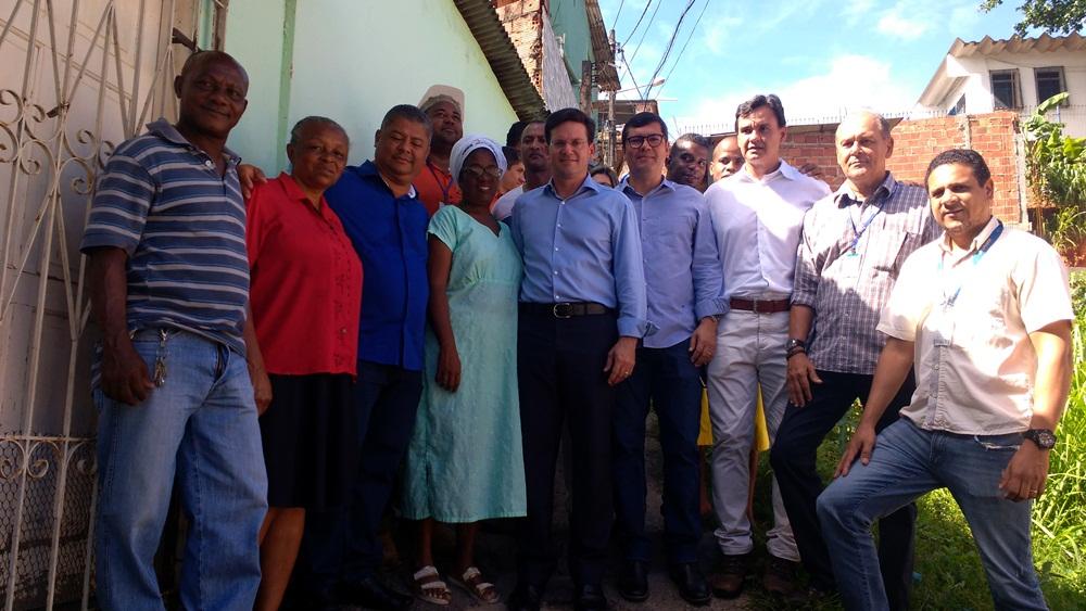 Prefeitura inicia obra de contenção de encosta no bairro da Santa Cruz