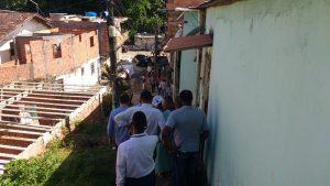 Prefeitura inicia obra de contenção de encosta no bairro da Santa Cruz1
