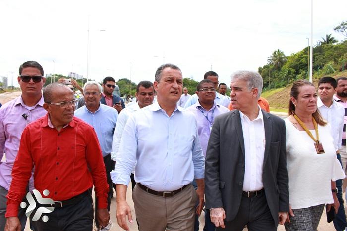 Photo of Governador Rui Costa apresenta Via Barradão à imprensa