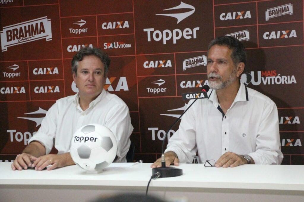 Vitória apresenta o novo diretor de futebol