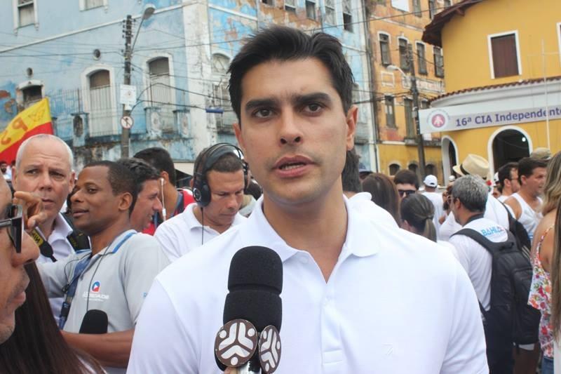 Photo of Alexandre Aleluia participa da Festa do Bonfim e fala sobre pré-candidato a deputado estadual