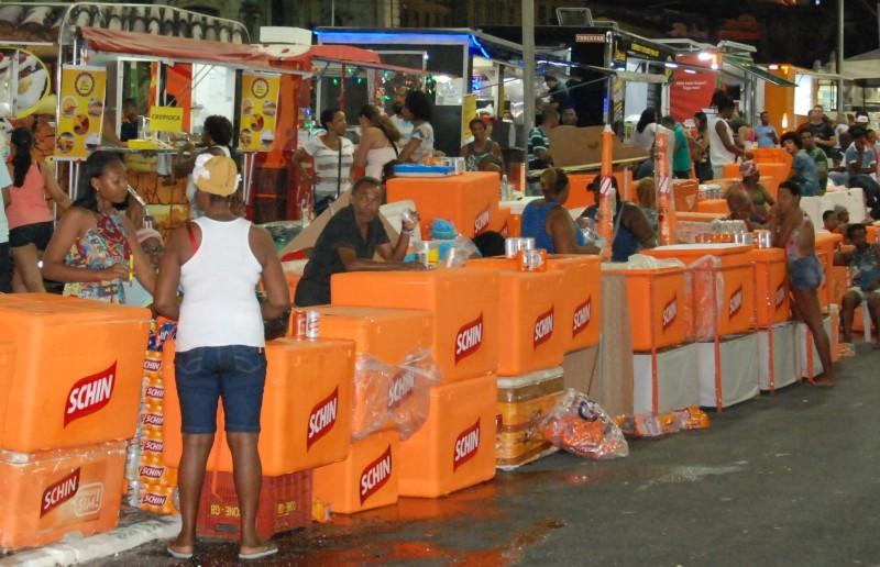 Comissão do Carnaval do Nordeste reúne com ambulantes que irão trabalhar no Circuito Mestre Bimba.
