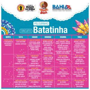 Confira as atrações do Carnaval do Governo do Estado 2018 em Salvador3