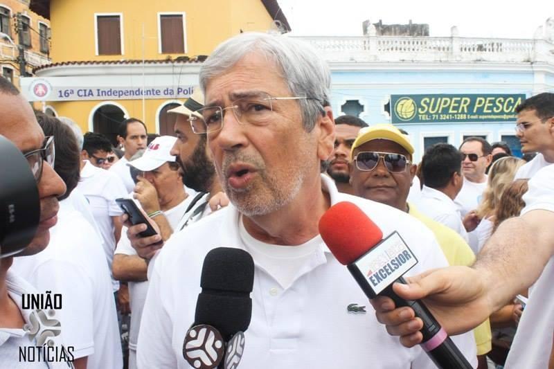 Ex-ministro Imbassahy é questionado sobre os investimentos federais para Bahia