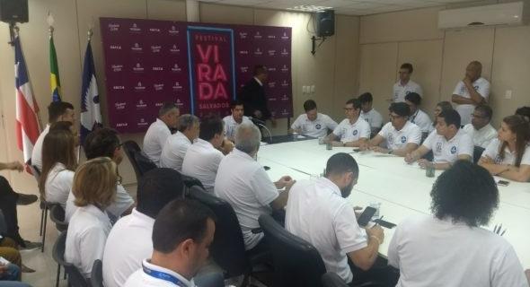 Prefeito ACM Neto celebra resultados do Festival da Virada