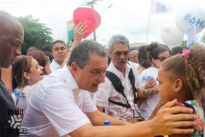 Rui Costa nos braços do povo na Lavagem do Bonfim1