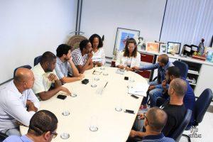 Secretária Fábia Reis recebe comissão e esclarece sobre atuação da secretaria no Carnaval do Nordeste