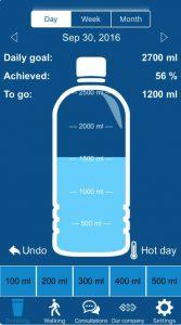 Conheça o aplicativo que te lembra de tomar água e das suas consultas médicas