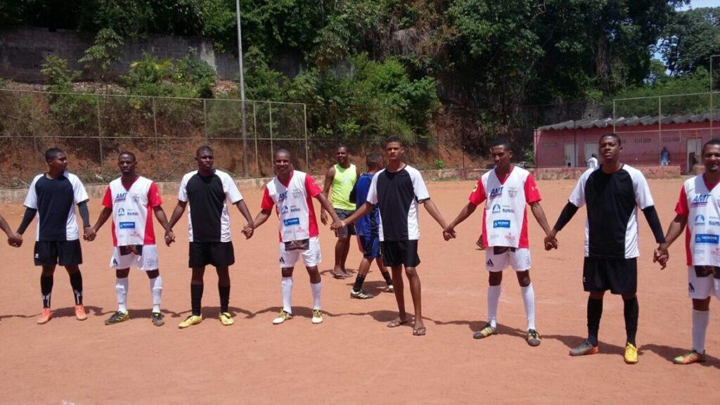 Photo of 1ª rodada é marcada por muitos gols no Campeonato Evangélico do bairro da Santa Cruz