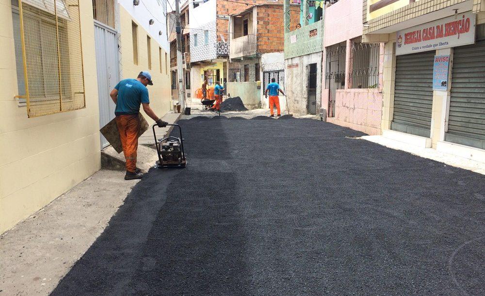 Moradores da 2ª Travessa São Benedito agradece pela benfeitoria Asfáltica