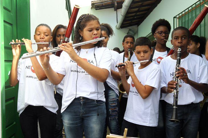 Photo of Núcleo Neojiba-Nordeste de Amaralina abre vagas para crianças e adolescentes
