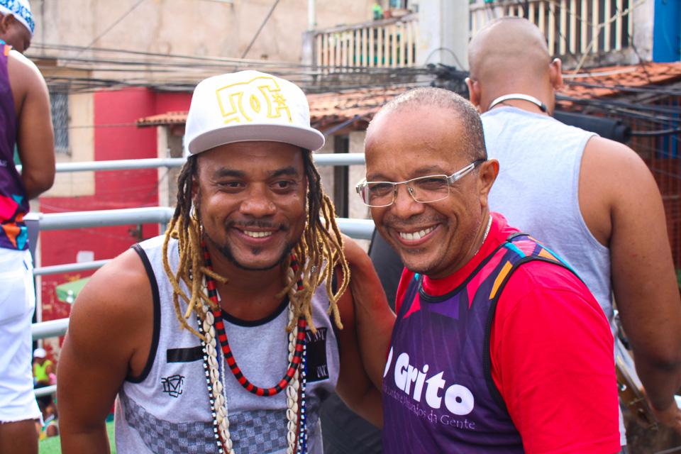 O GRITO Pré-Carnaval reúne centenas de foliões no bairro do Nordeste de Amaralina (2)