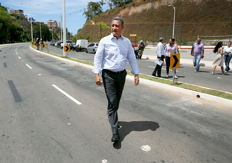 Rui apresenta Via Barradão à imprensa e destaca área como vetor de desenvolvimento
